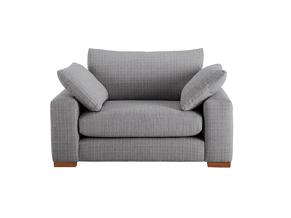 Jackson Cuddle Chair in Casual Graphite