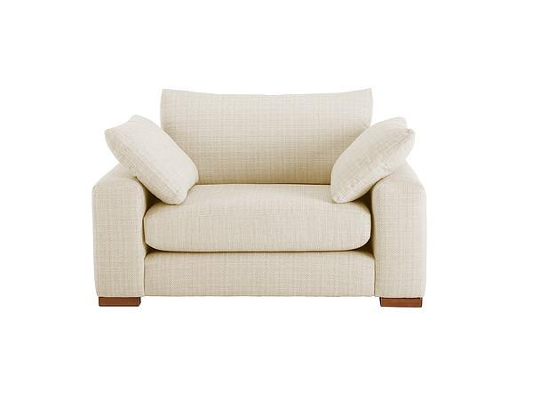 Jackson Cuddle Chair in Sweet Barley