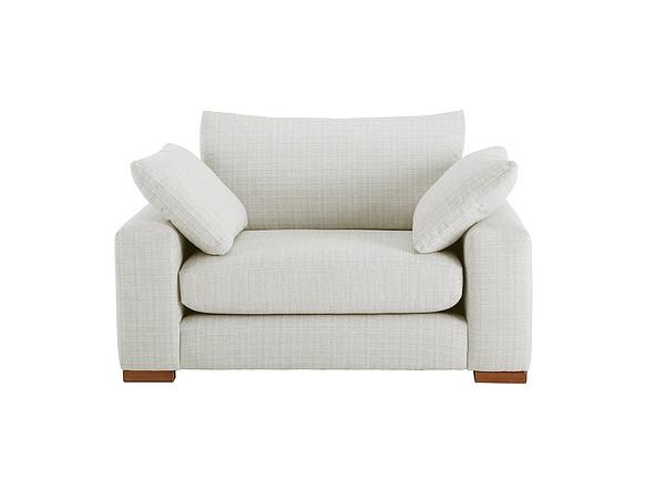 Jackson Cuddle Chair in Sweet Marl