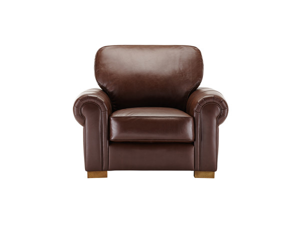 Manchester Armchair  Antique Chestnut Leather