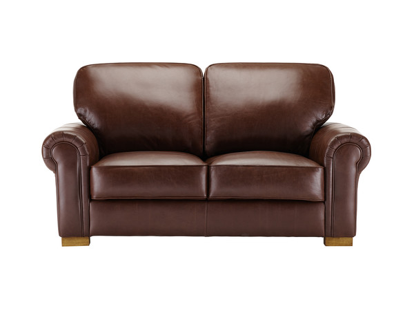 Manchester Medium Sofa  Antique Chestnut Leather