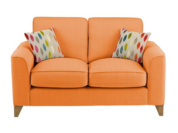 Newton Medium Sofa in Costa Tangerine