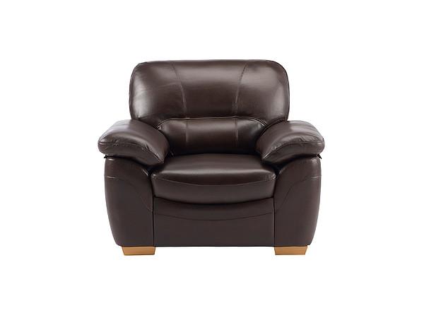 Sofas Weston Armchair - Brown Leather